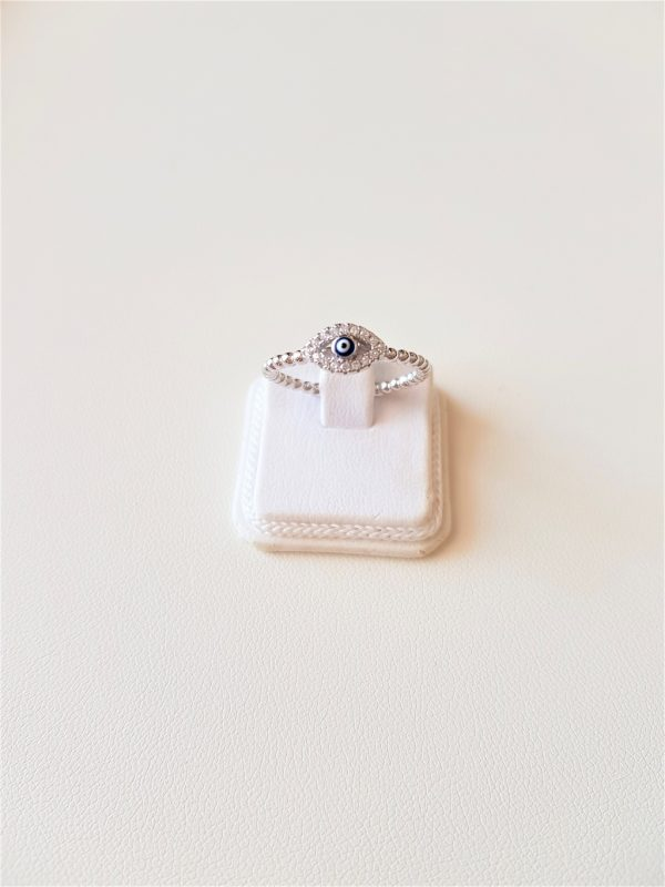 Ring with the evil eye